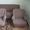 Диван серый с двумя креслами #659958
