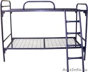 кровати для рабочих, кровати двухъярусные для строителей, кровати для лагеря - Изображение #6, Объявление #905273