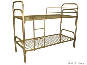 Кровати металлические для времянок, кровати для общежитий, кровати низкие цены - Изображение #3, Объявление #1479389