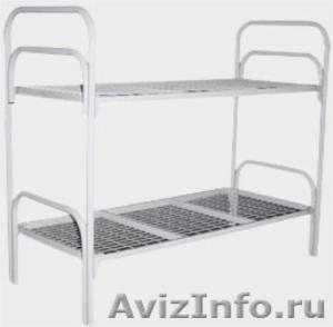 Армейские металлические кровати для солдат, кровати для казарм, кровати дёшево - Изображение #1, Объявление #1479517