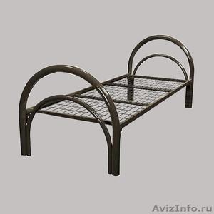 Кровати металлические для времянок, кровати для общежитий, кровати низкие цены - Изображение #2, Объявление #1479389