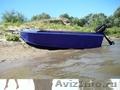 лодка 2-х местная с веслами