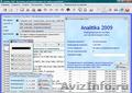 Analitika 2009 - Бесплатное ПО для учета и управления торговой компанией