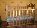 Продаю деревяную  детскую кроватку