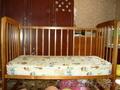 Детская кроватка - маятник