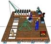 Оборудование предназначено для добычи озерных лечебных грязей