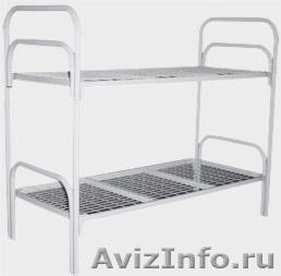 Армейские металлические кровати для солдат, кровати для казарм, кровати дёшево, Объявление #1479517